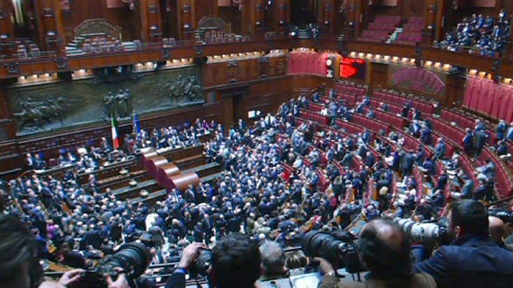 Premier tour de scrutin blanc pour l'élection du président italien