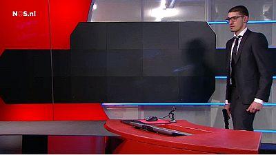 Holanda: homem armado invade TV nacional
