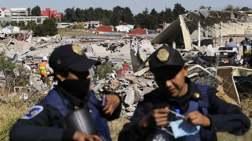 المكسيك: مقتل 3 أشخاص بينهم طفلان في انفجار داخل مستشفى للولادة
