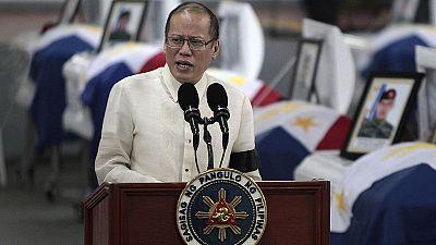 Filipinas: funeral por los 44 policías muertos a manos de los disidentes islamistas del sur del país