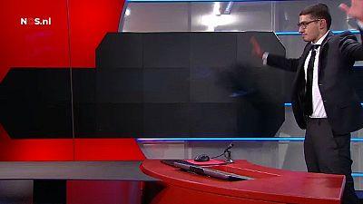 Dutch TV intruder held in custody