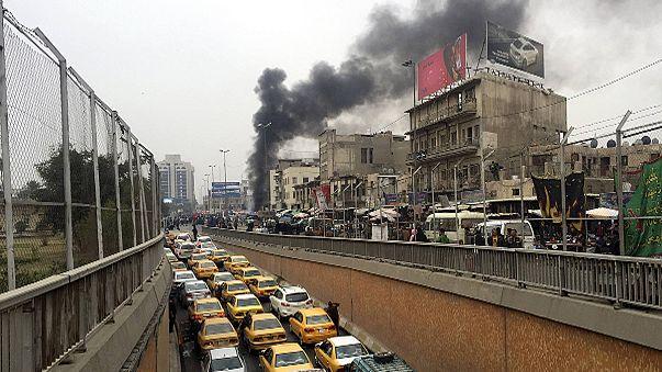 مقتل 12 شخصا في انفجارين وسط بغداد