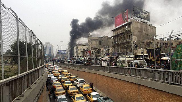 Теракт на рынке в центре Багдада