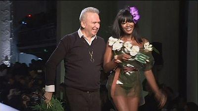 "French fashion ""enfant terrible"" Jean-Paul Gaultier has fun in Paris"