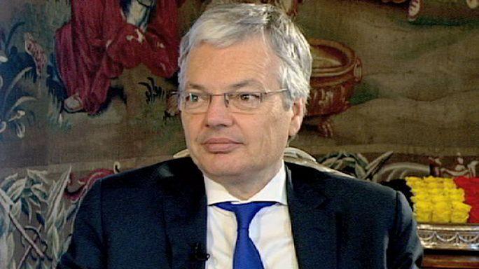 Belgium's Reynders on terrorism, Ukraine and Greece