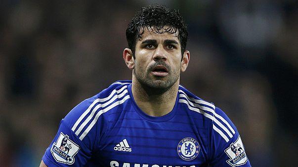 Calcio: confermate le 3 giornate per Diego Costa, out per il big match col City