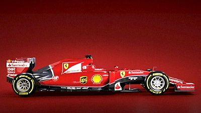 Ferrari presenta el nuevo monoplaza de Raikkonen y Vettel