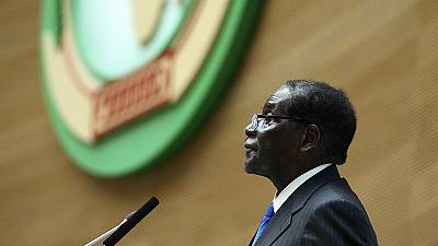 Zimbabwe's Mugabe elected as new African Union chairman