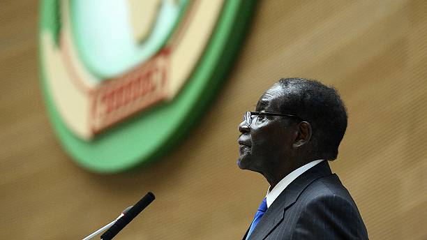 Zimbabwe's Mugabe elected as new African Union chairman