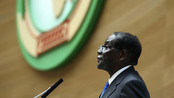 A vitatott megítélésű Mugabe az Afrikai Unió soros elnöke