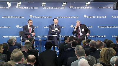East meets West in Washington to discuss Russian assertiveness