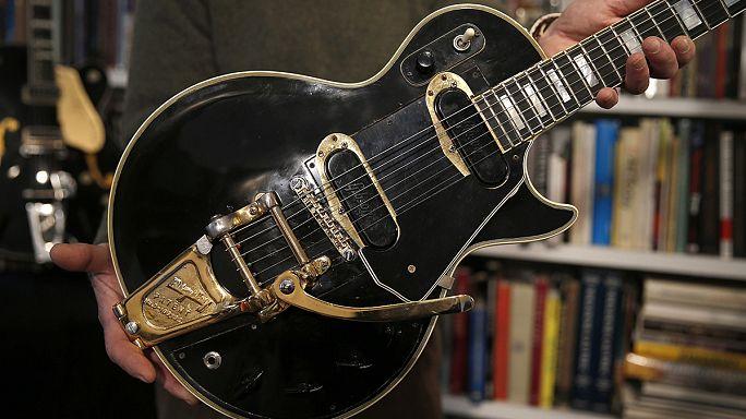 All'asta il prototipo originale della Black Beauty di Les Paul