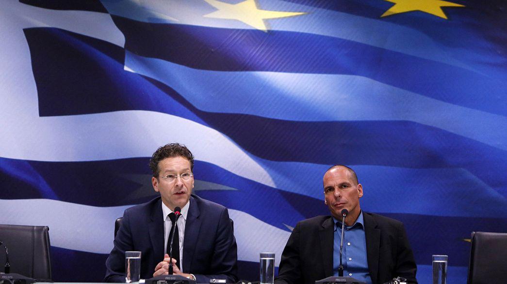 Francia mediará entre Grecia y Alemania