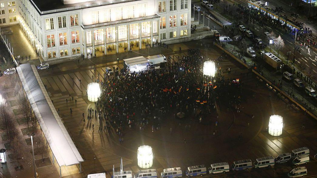 Germania: appena 1500 persone a manifestazione anti-Islam. Settimane fa, erano dieci volte tanto