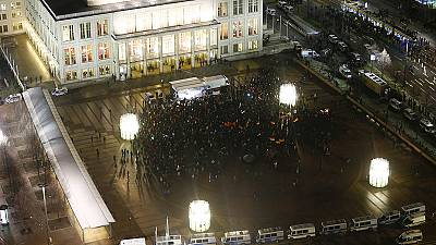 El nuevo grupo antiinmigración Legida concentra en Leipzig unas 1.500 personas