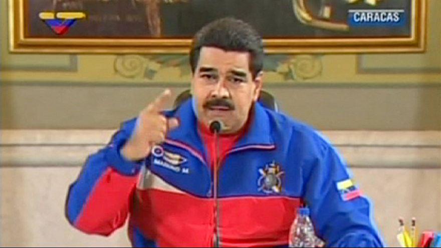 Regierungsfeindliche Demonstrationen in Caracas