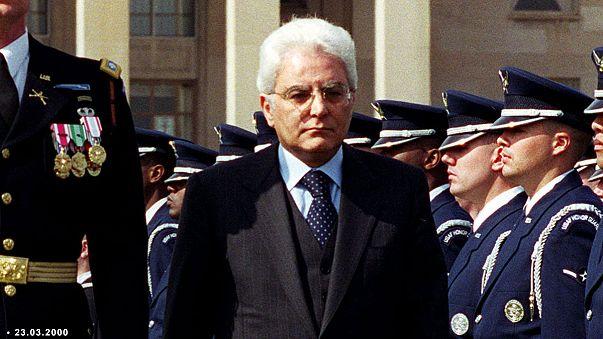 İtalya'da yeni cumhurbaşkanı Sergio Mattarella