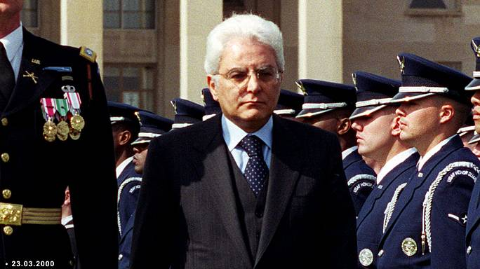Sergio Mattarella élu président de la République italienne