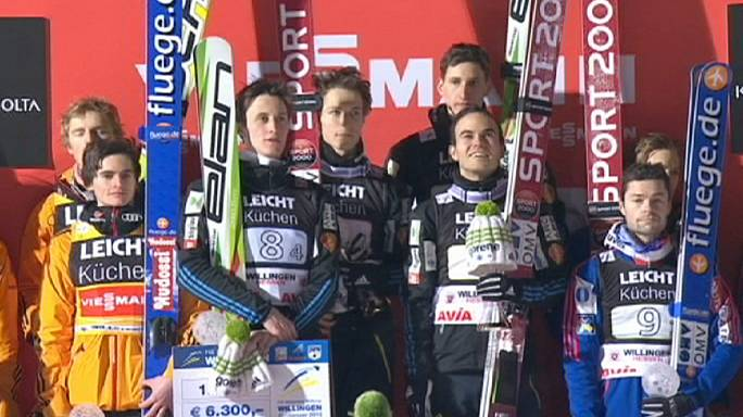 Slovenia take top spot in Willingen