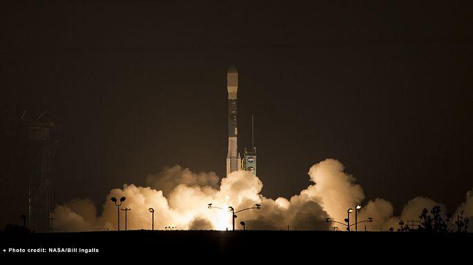 Mise en orbite d'un satellite chargé de mesurer l'humidité des sols