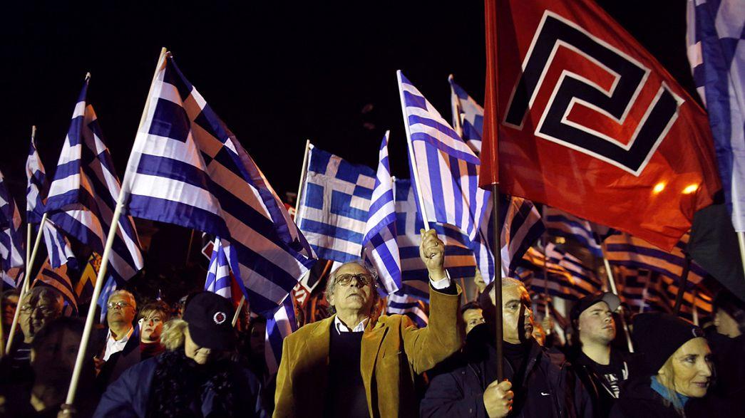 Athen: Europäische Rechte fordern Freilassung von Goldene-Morgenröte-Abgeordneten