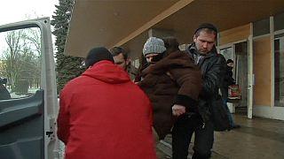 Ostukraine: Kämpfe um Debalzewe, Einwohner verlassen die Stadt