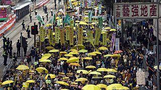 المتظاهرون المطالبون بالديمقراطية في هونغ كونغ يستعدون للتظاهر مجددا