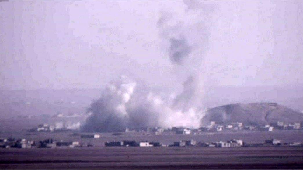 Luftangriffe vertreiben IS-Miliz aus Kobani