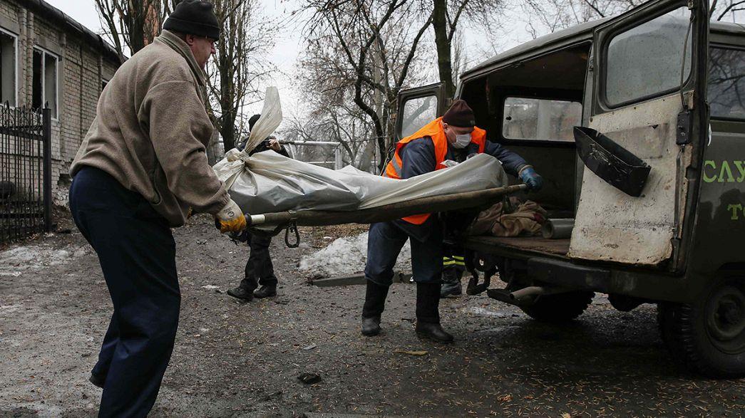 Ukrayna'da ateşkes umutları yerini şiddetli çatışmalara bıraktı