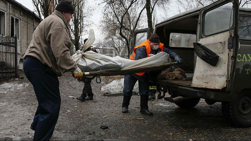 استمرار القتال الدامي في شرق أوكرانيا
