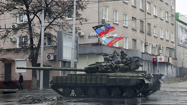 احتدام المعارك شرق اوكرانيا