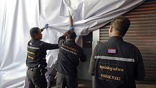أول انفجارين في بانكونغ منذ الانقلاب العسكري فيها