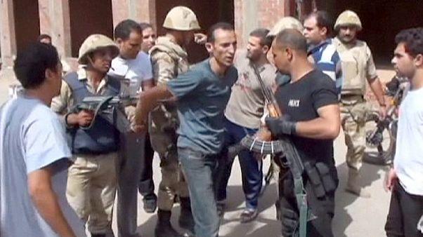 الاعدام بحق 183 متهما بقتل عناصر شرطة في مصر