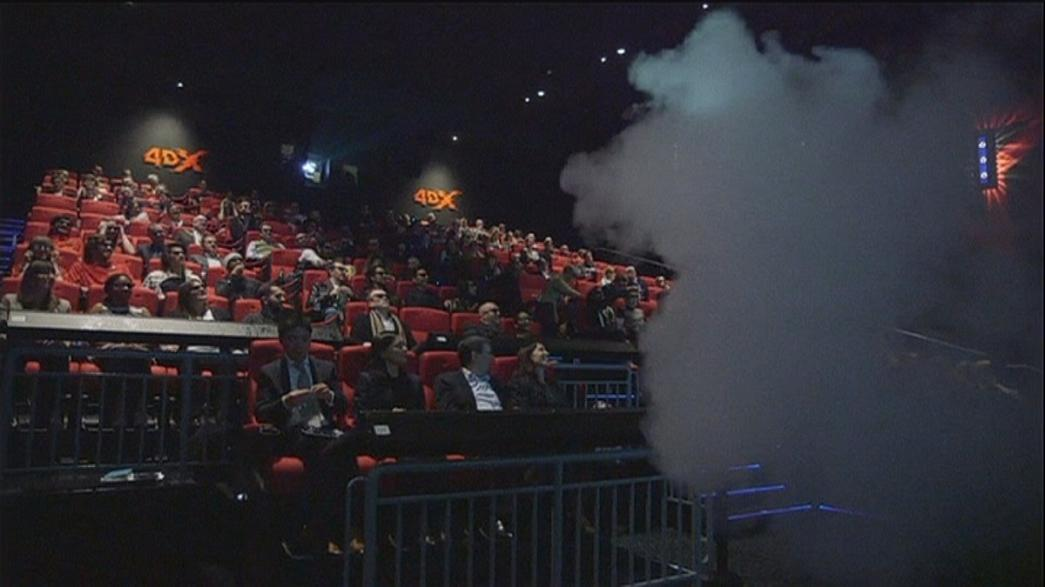4DX auditorium allows cinema-goers to see, hear, feel and smell films
