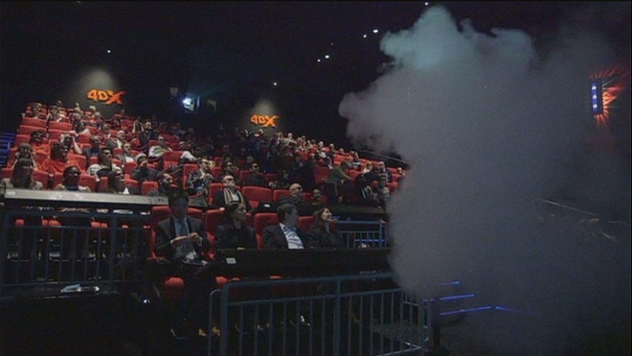 4DX, el último grito tecnológico en las salas de cine