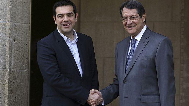 Cipruson ígért együttműködést a görög miniszterelnök