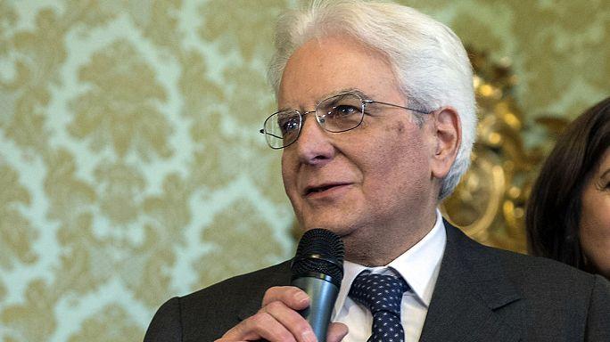 Italie : le sicilien Sergio Matarella, nouveau président