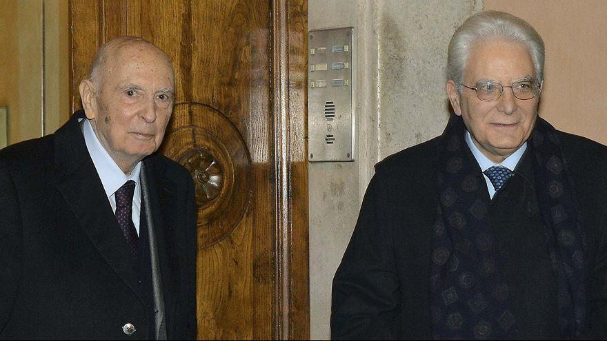 Sergio Matterella jura hoy su cargo como nuevo presidente de Italia