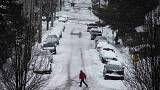 Usa. Tempeste di neve e ghiaccio a Boston, Chicago, New York