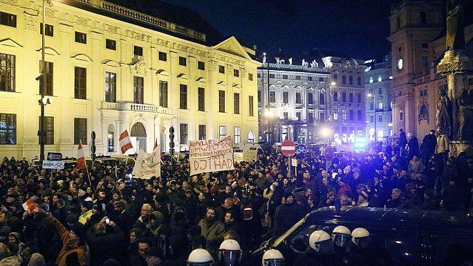 Autriche : premier rassemblement de Pegida