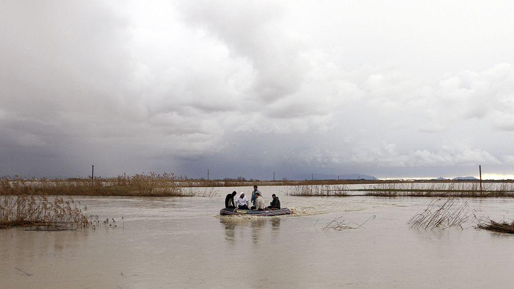 Starke Überschwemmungen in Südosteuropa