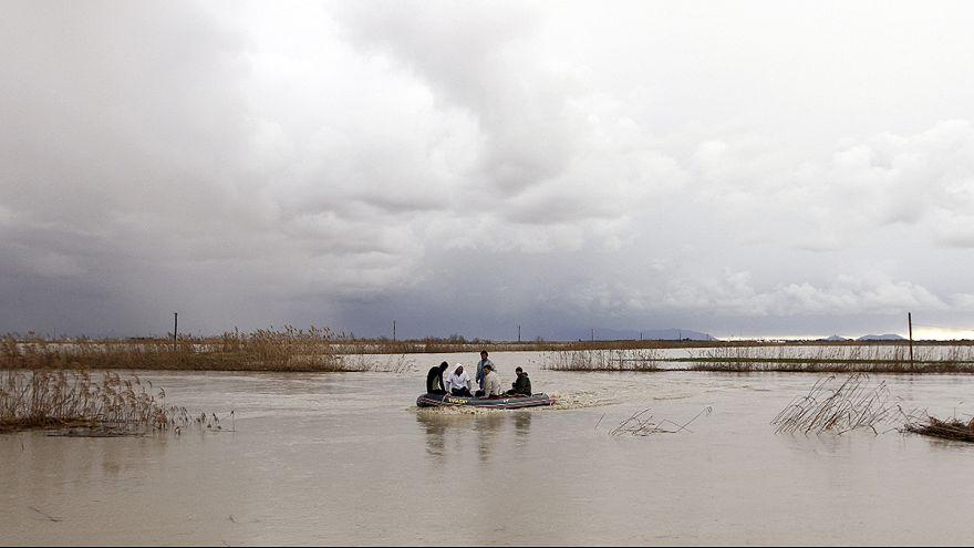 Inondations : situation critique en Albanie et en Macédoine