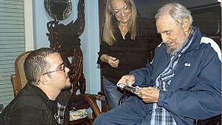 Fidel Castro reaparece