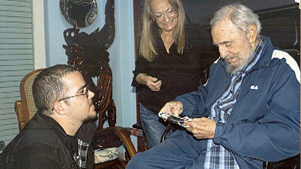 Neue Bilder von Fidel Castro: Mager aber fit