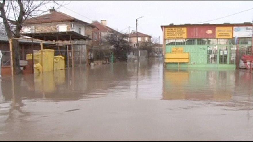 Floods wreak havoc in Blugaria