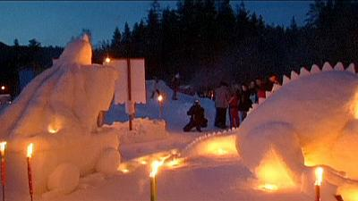 Slovenian winter wonderland celebrates King Matjaz – nocomment
