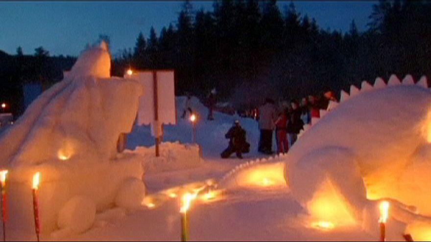 Slovenian winter wonderland celebrates King Matjaz