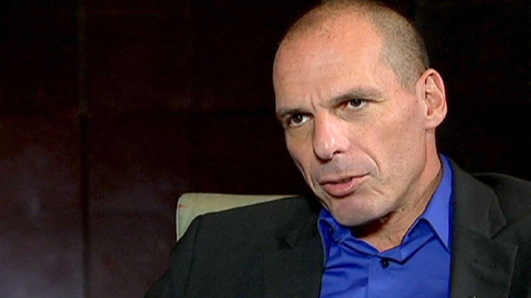 """Varufakis: """"Grecia no busca un enfrentamiento del tipo Lejano Oeste con la UE"""""""