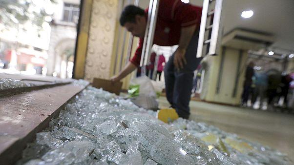 Varias explosiones sacuden Egipto