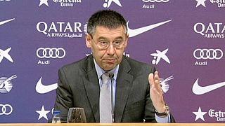 Presidente do Barcelona no banco dos réus